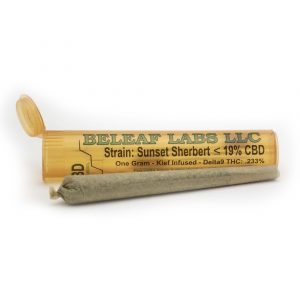 Sunset Sherbert CBD Joint