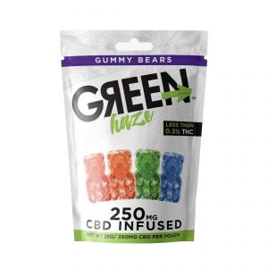 Green Haze Gummy Bears
