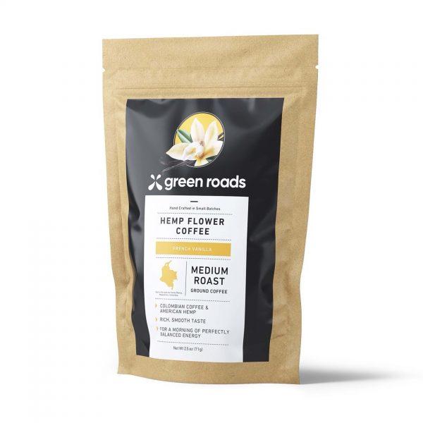 Green Roads French Vanilla Hemp Flower Coffee