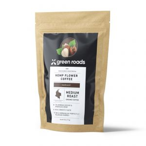 Green Roads Hazelnut Hemp Flower Coffee