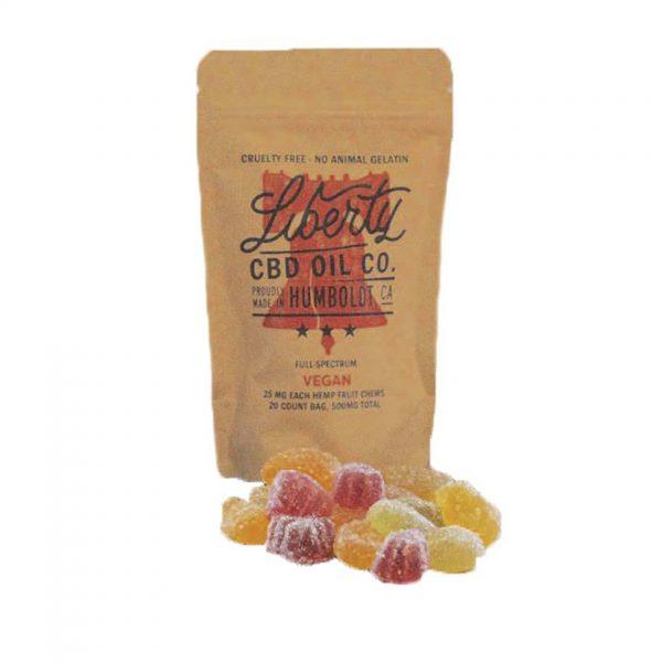 Liberty Hemp Vegan Fruit Chews