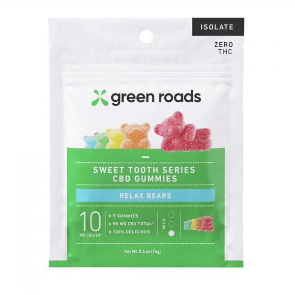 Green Roads Relax Bears 5 Count