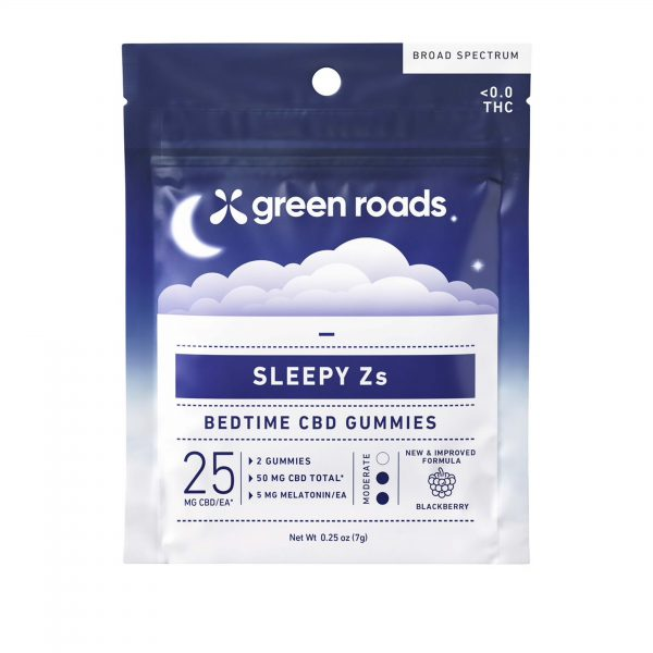 Green Roads Sleepy Zs 2 Count